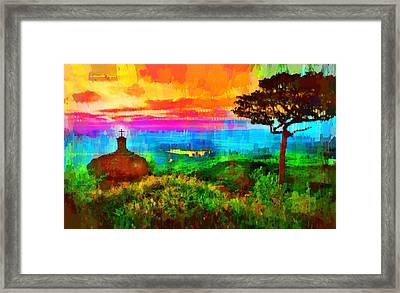 Protected Forest - Pa Framed Print