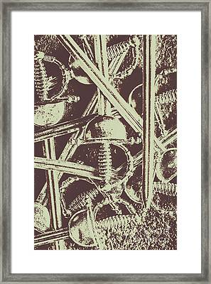 Protecting The Iron Gate Framed Print