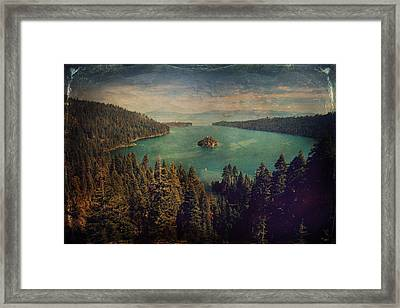Protection Framed Print by Laurie Search