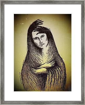 Protection Framed Print by Paulo Zerbato