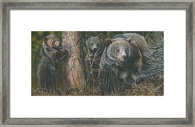 Protective Mother Framed Print