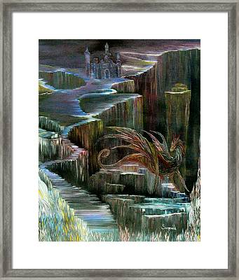 Protector Framed Print by Cary Singewald