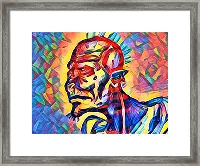 Protector Of The Earth Framed Print by Joshua Massenburg