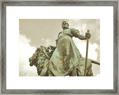 Protector Of The Queen Framed Print by JAMART Photography