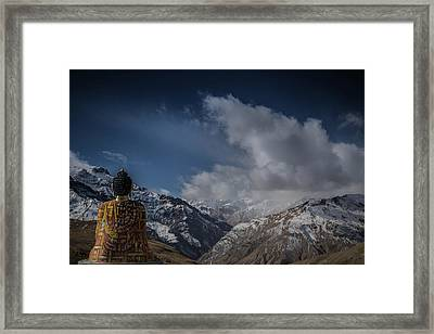 Protector Framed Print by Happy Home Artistry