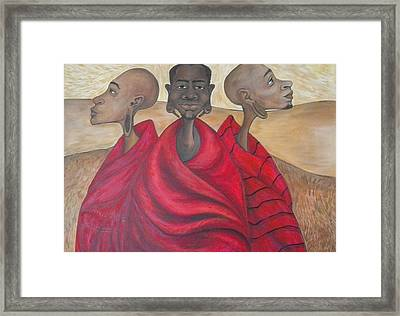 Protectors Framed Print by Jenny Pickens