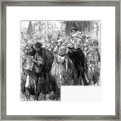 Protestant Reformation Framed Print by Granger