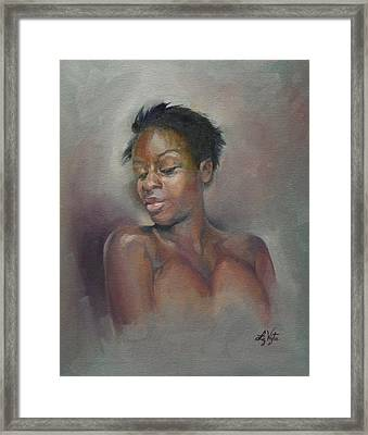Proud Beauty Framed Print