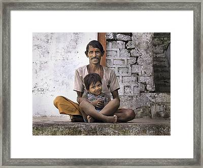 Proud Father Framed Print
