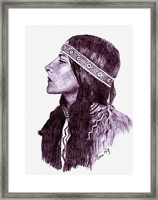 Proud Heritage Framed Print