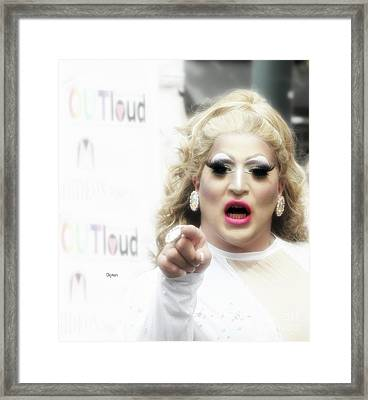 Proud Mary  Framed Print