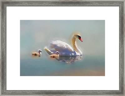 Proud Mom Framed Print