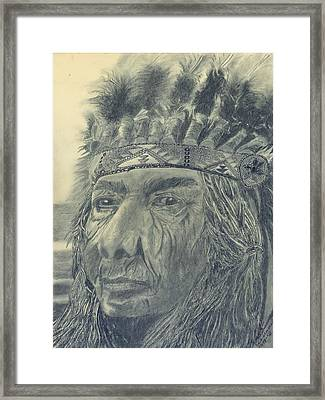 Proud Of The Past Framed Print by Mark Villemure