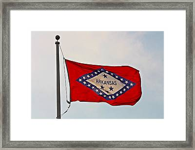 Proud To Be An Arkansan- Fine Art Framed Print