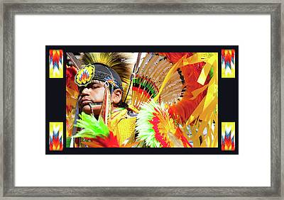 Proud To Dance Framed Print by Theresa Tahara