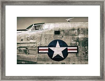 Proud Veteran Framed Print