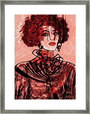 Proud Woman Framed Print by Natalie Holland