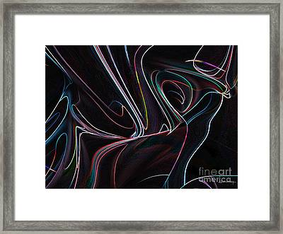 Pround Lines Framed Print by Christian Simonian