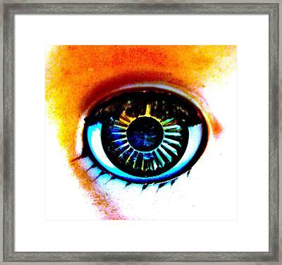 Provacative Framed Print by Gwyn Newcombe