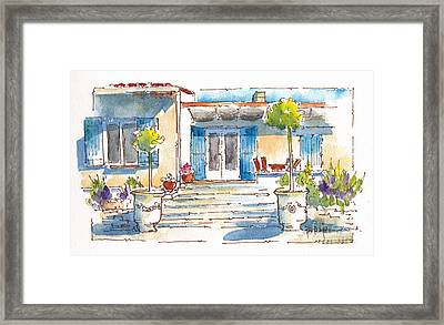 Provencal Dreams Framed Print
