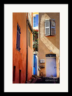 Provence Village Photographs Framed Prints
