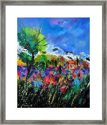 Provence 450170 Framed Print by Pol Ledent