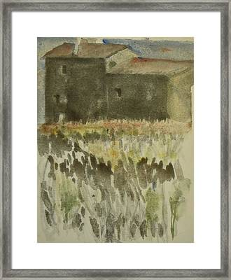Provence Stenhus. Up To 60 X 90 Cm Framed Print
