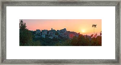 Provence Village 1 Framed Print by Simon Kayne