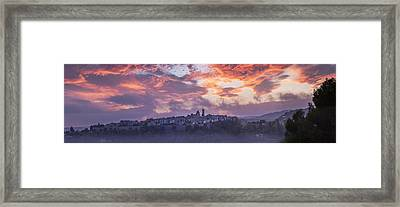 Provence Village 3 Framed Print by Simon Kayne