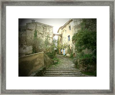 Provence Framed Print by Yannick Guerin