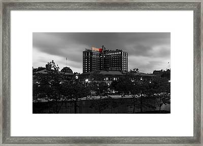 Providence Biltmore Framed Print by Andrew Pacheco