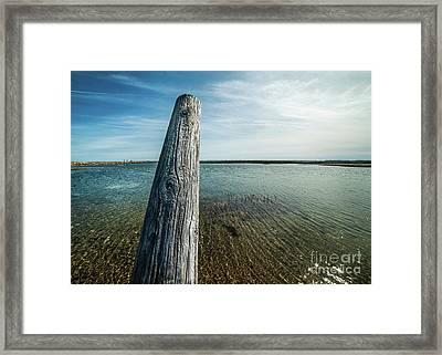 Provincetown Breakwater #2 Framed Print