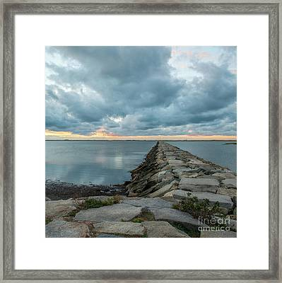 Provincetown Breakwater #3 Framed Print