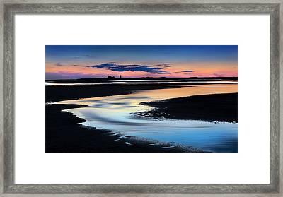 Provincetown Cape Cod Sunset Framed Print