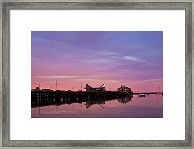 Provincetown Harbor I Framed Print by David Gordon