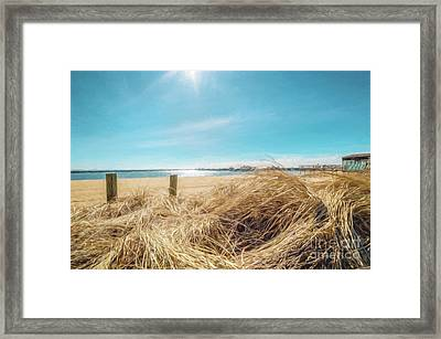 Provincetown Harbor Framed Print