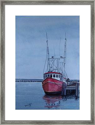 Provincetown Portuguese Framed Print by Haldy Gifford