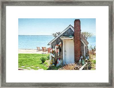 Provincetown Shed Framed Print