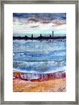Provincetown Skyline 1 Framed Print
