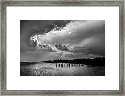 Provincetown Storm Framed Print by Charles Harden