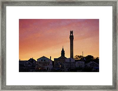Provincetown Sunset Framed Print