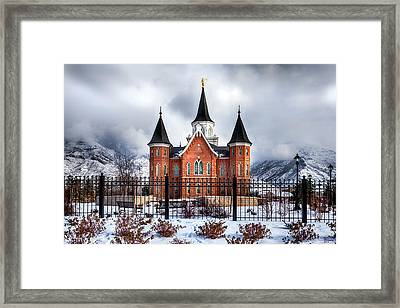 Provo City Center Temple Lds Large Canvas Art, Canvas Print, Large Art, Large Wall Decor, Home Decor Framed Print