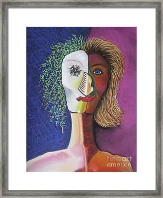Prozac Framed Print by Tracey Levine