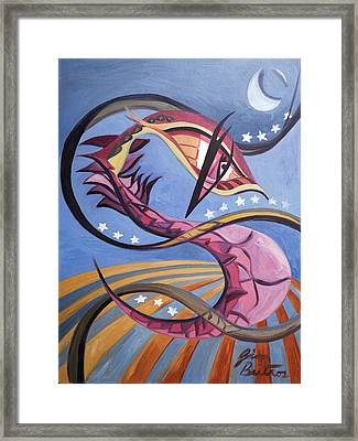Prudent Night Stalker Framed Print by Jimmy Butros