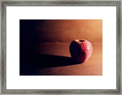 Pruned Apple Still Life Framed Print