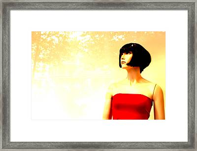 Prunella 2 Framed Print by Jez C Self