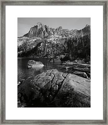 Prusik Peak Framed Print by Rakesh Malik