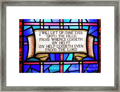 Psalm 121 Framed Print by Juli Scalzi