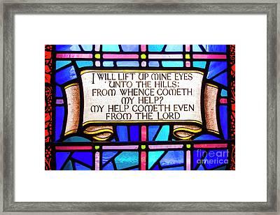 Psalm 121 Framed Print by Juli Scalzi