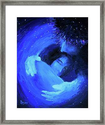 Psalm 139, The Inescapable God Framed Print by Mike Moyers